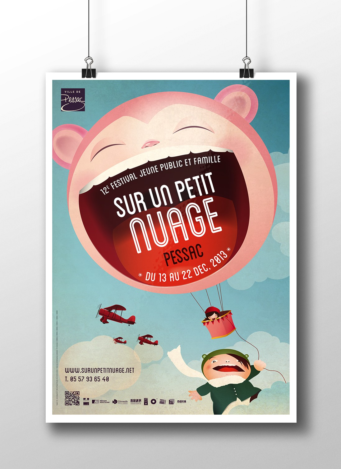 poster nuage